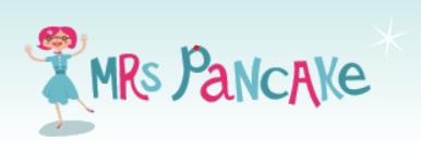 Mrs Pancake logo